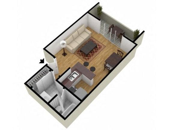 Floor Plan  Studio Floor Plan