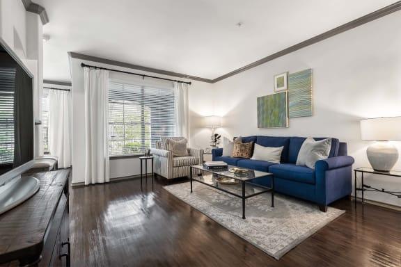 Spacious Living Room at Villas at Stone Oak Ranch, Austin, 78727