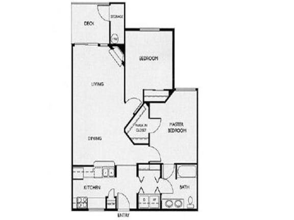 Floor Plan at Willina Ranch, Bothell,Washington