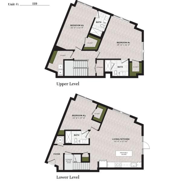 Floor Plan  D-10-L