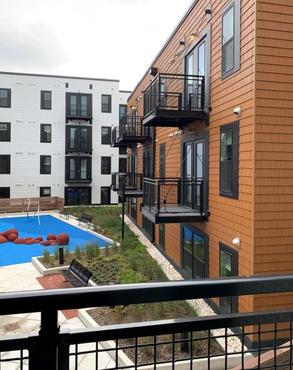 Apartment 377_Balcony View