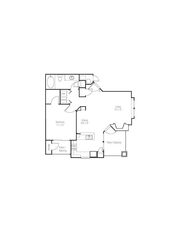 Silverleaf Floor Plan at The Bluffs at Highlands Ranch, Highlands Ranch, Colorado