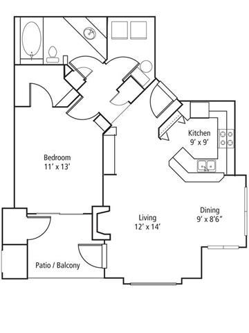 Juniper Floor Plan at The Bluffs at Highlands Ranch, Highlands Ranch, 80129