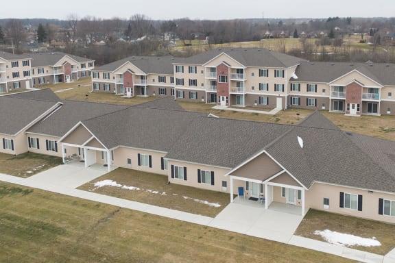 BBQ Areas at Dutton Estates, MRD Apartments, St. Clair, MI
