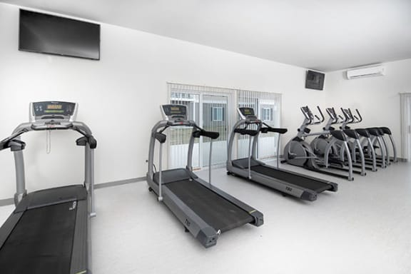 Fitness Center Access at Dutton Estates, Michigan