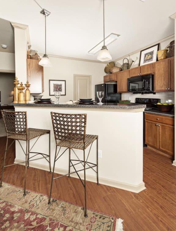 The Legacy at Walton Oaks Apartment Homes, Augusta GA Kitchen