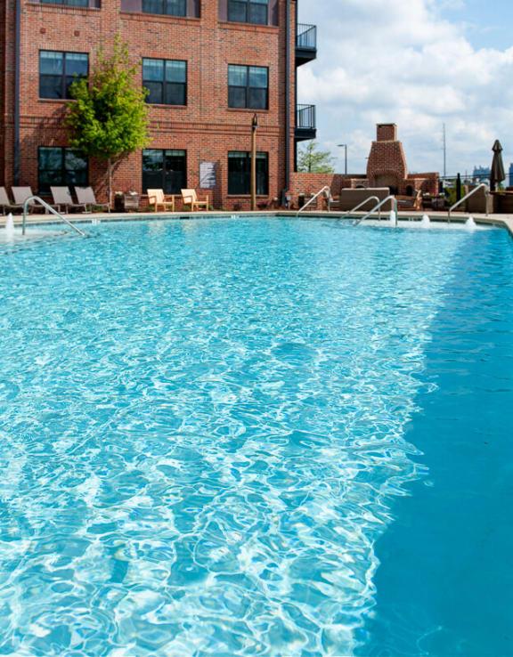Shimmering pool at Walton Westside, GA, 30318