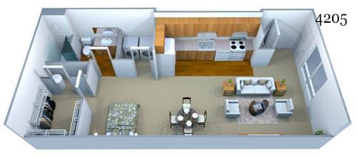 4205 Floor Plan Image