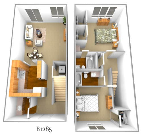 b1285 floor plan image