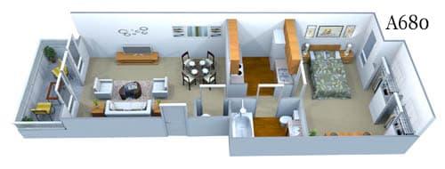 a680 Floor Plan Image