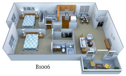 b1006 floor plan image