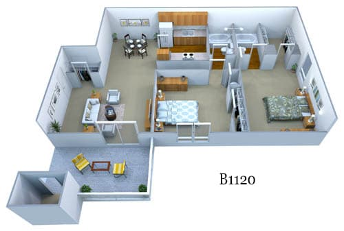 b1120 floor plan image