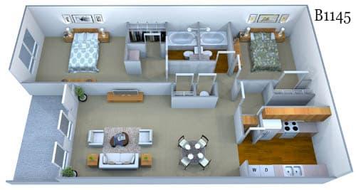 b1145 floor plan image