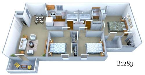 b1283 floor plan image
