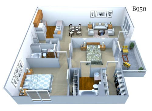 b950 floor plan image