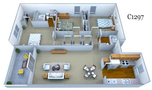 c1297 floor plan image