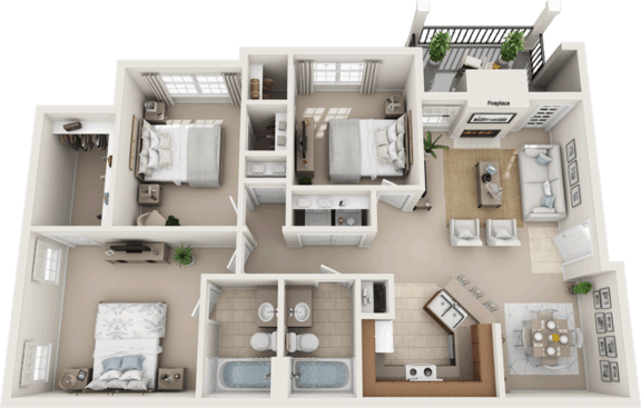 Affordable apartments in Fort Worth, TX