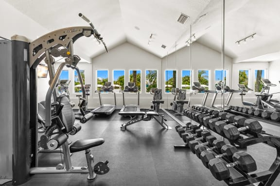 Strength Training & Cardio Equipment At The Fitness Center