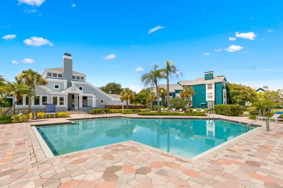 Clubhouse Overlooking The Pool & Sundeck