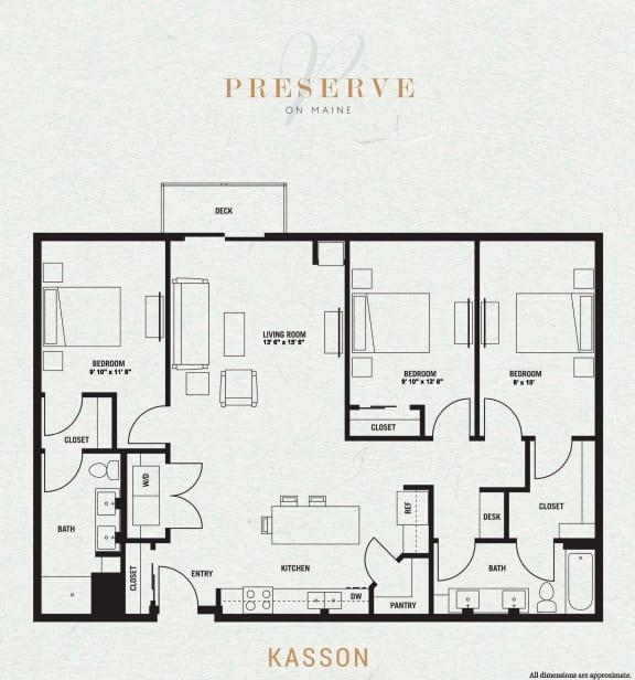 Kasson Floor Plan