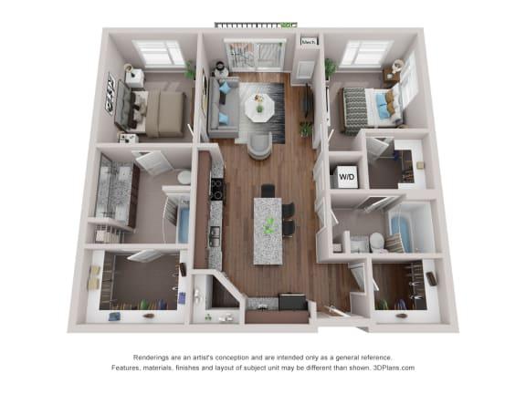 Arcadia Floor Plan