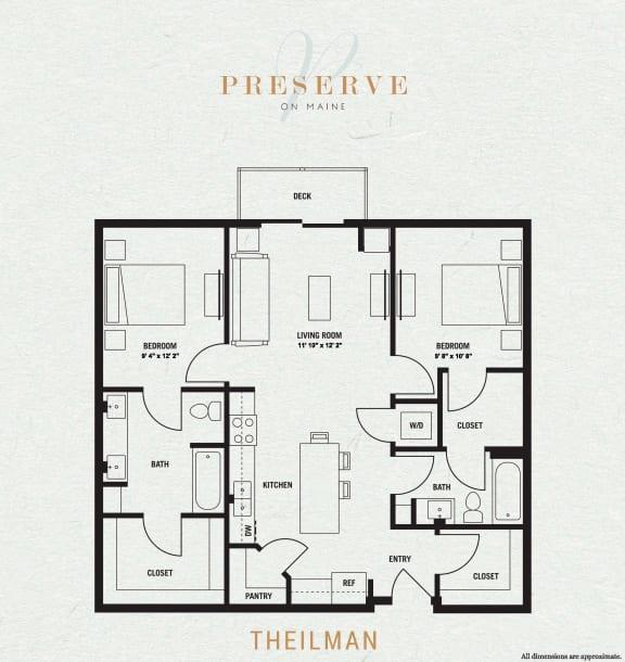 Theilman Floor Plan