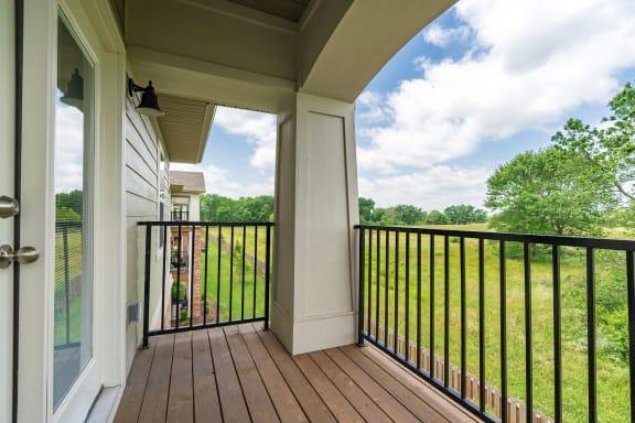 Exterior Balcony Or Patio