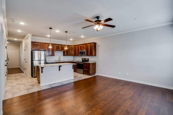 Open Concept Kitchen & dining Area