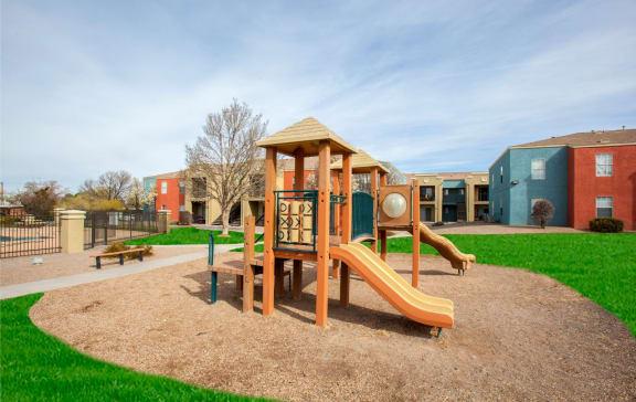 Playground at Aspen Ridge in Albuquerque New Mexico
