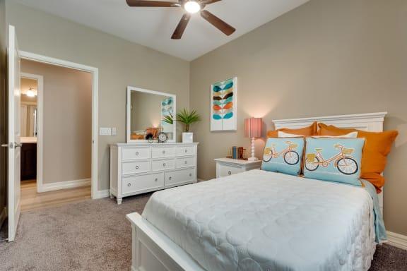 Second Bedroom at Bella Victoria Apartments in Mesa Arizona January 2021 2