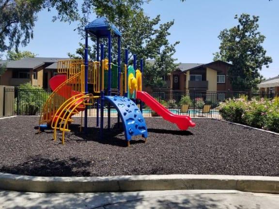 Outdoor Play Area at Citrus Gardens Apartments, Fontana, California