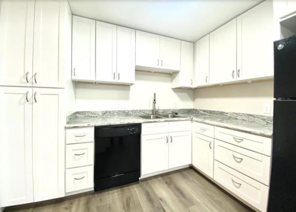 modular Kitchen at Augusta Court Apartments, Houston, Texas