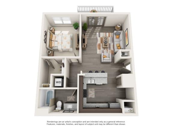 Floor Plan  A2 1b1b