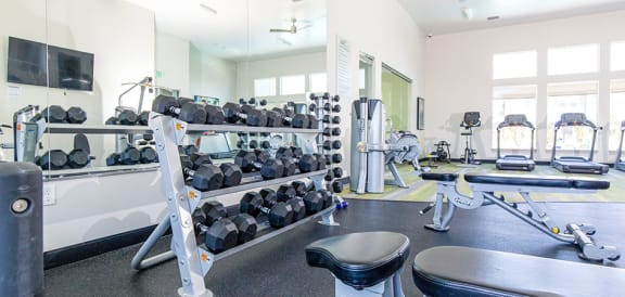 High Endurance Fitness Center at Parc on CenterApartments& Townhomes, Utah