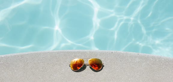 Crystal Clear Swimming Pool at Echo Ridge Apartments, Castle Rock, CO, 80108