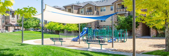 Play Structure at San Tropez Apartments & Townhomes, South Jordan, UT