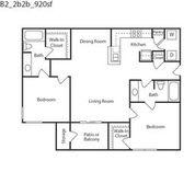 Floor Plan  Keystone Pecos B2