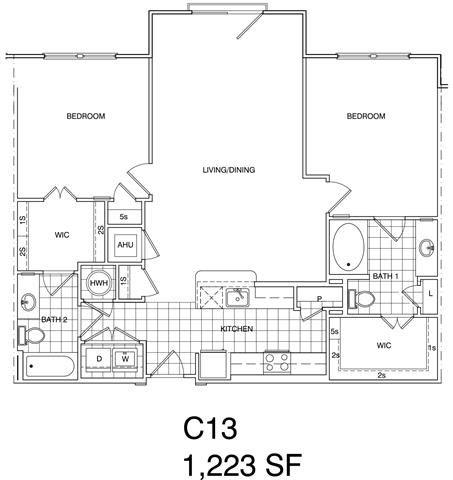Floor Plan  Apartments for Rent in Herndon VA