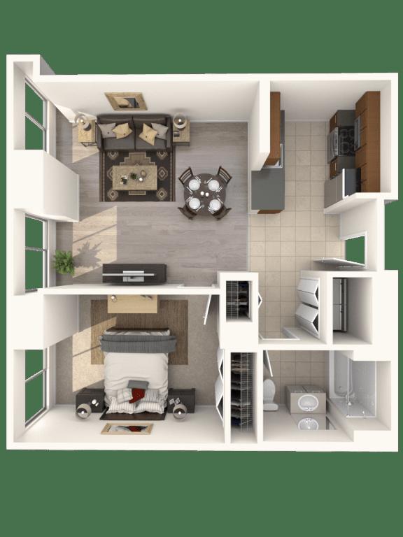 1D Floor Plan |Hartford 21
