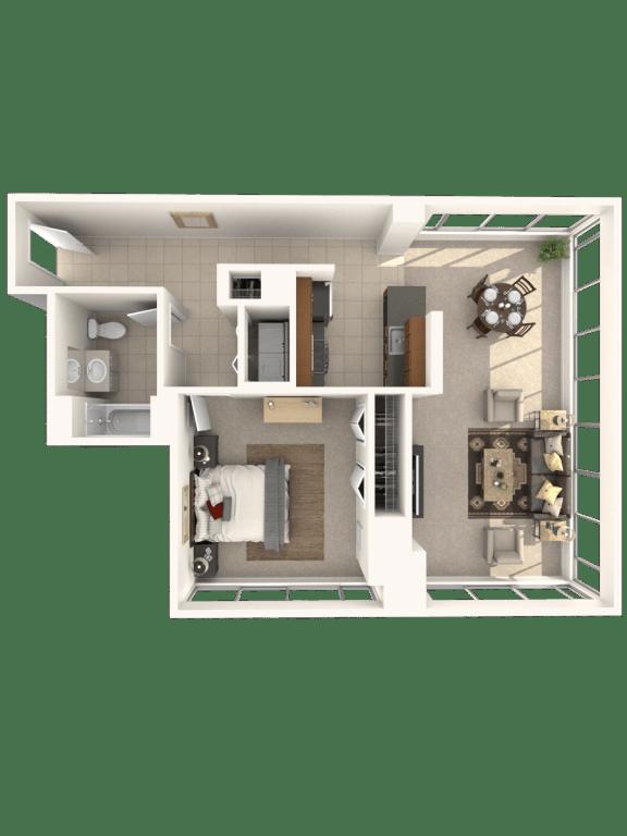 Floor Plan  1H Floor Plan |Hartford 21