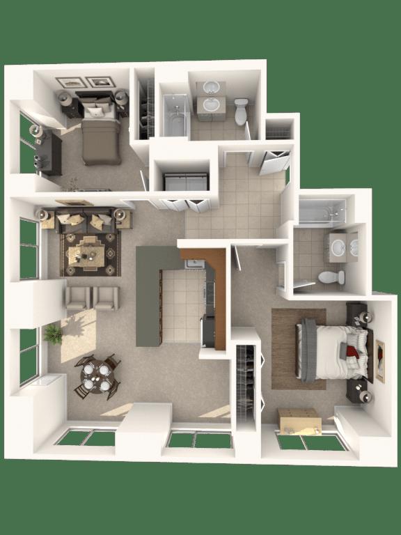 Floor Plan  2F Floor Plan |Hartford 21