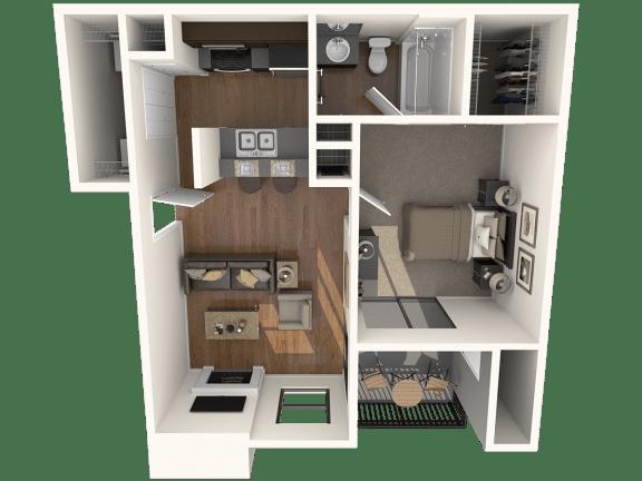 Floor Plan  A1 Floor Plan |Great Hills