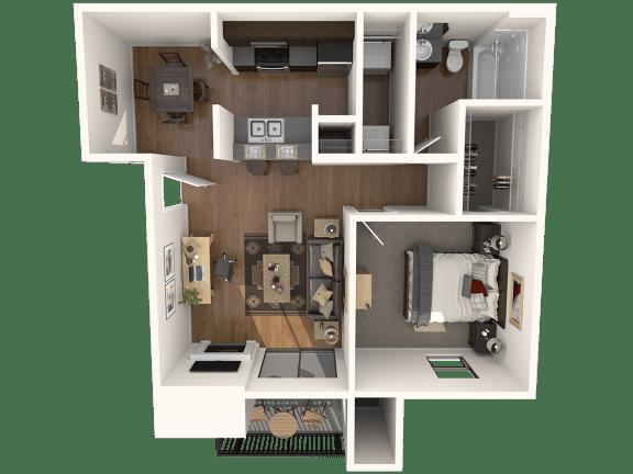 Floor Plan  A2 Floor Plan |Great Hills