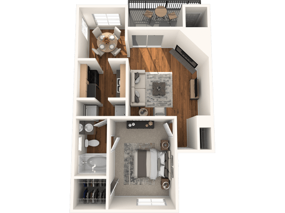 A2 Floor Plan | Madison Arboretum