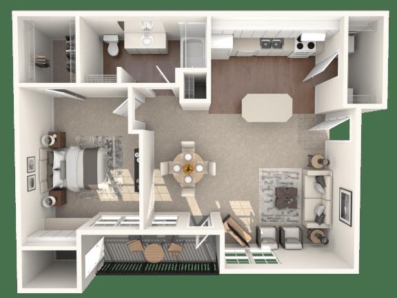 Floor Plan  A2 | Monterey Ranch