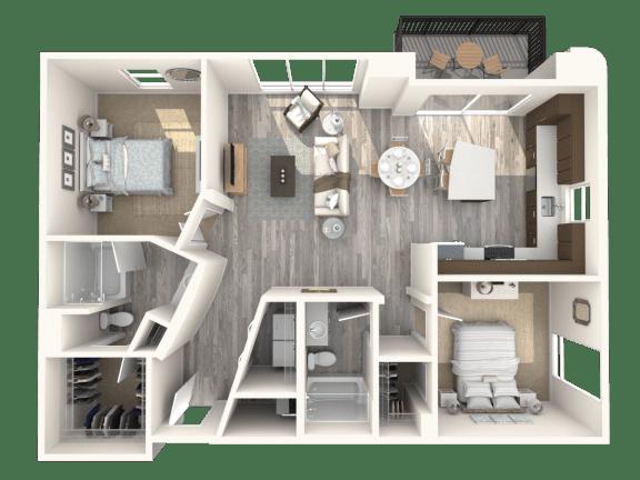 Floor Plan  Abbey Platinum Floor Plan | The Paramount