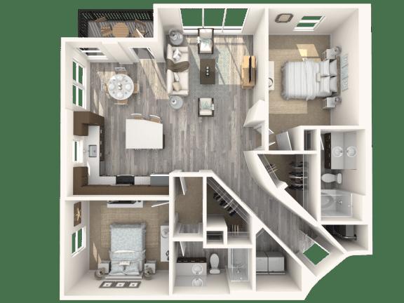 Floor Plan  Albion Platinum Floor Plan | The Paramount