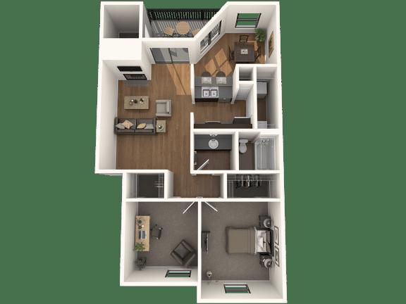 Floor Plan  B1 Floor Plan |Great Hills