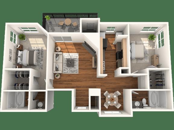 B1 Floor Plan | Madison Arboretum
