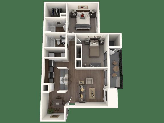 Floor Plan  B2 Floor Plan |Great Hills